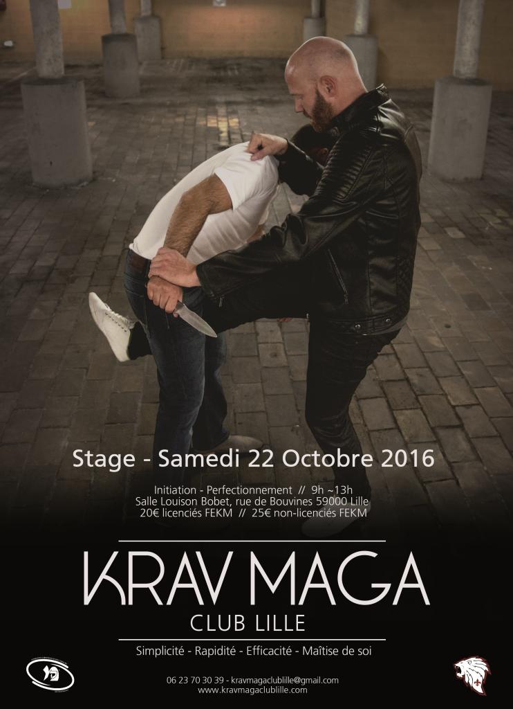 Affiche Krav Maga V8 - Copie